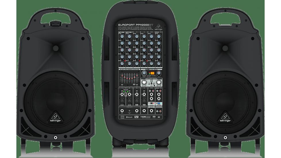 Système  de son portable Behringer PPA2000B