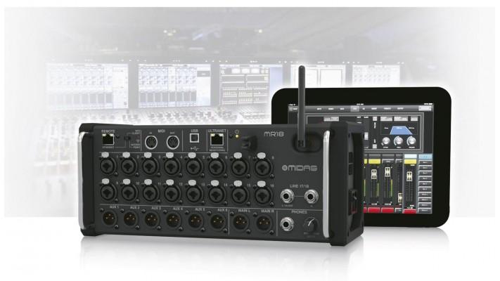 Console audio numérique