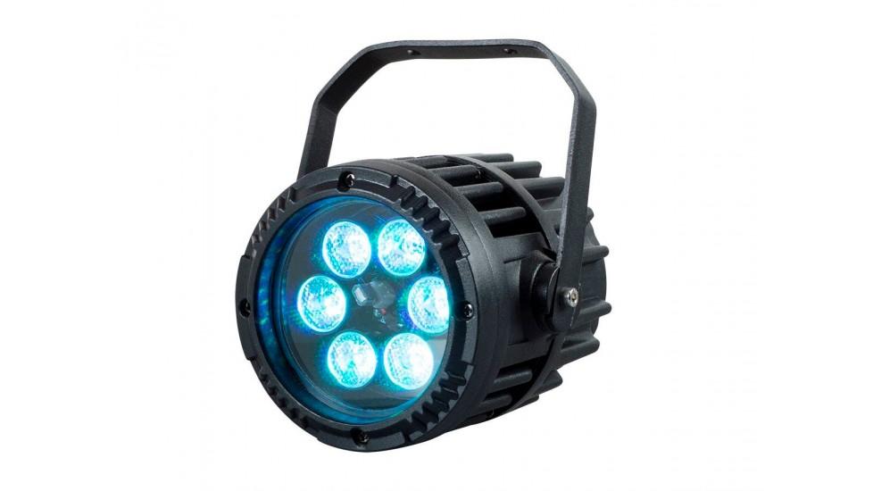 Mini Par LED Ip65 6X3 watt RGB